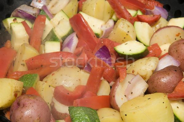 BBQ Vegatable Medley Stock photo © Gordo25