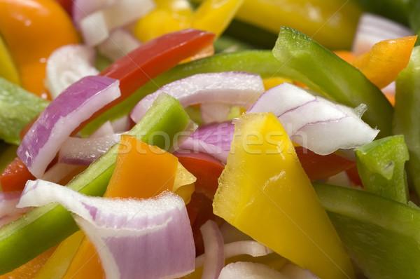 Chopped Veggies Stock photo © Gordo25