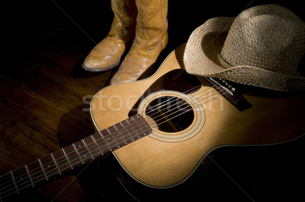 Country Music Spotlight Stock photo © Gordo25