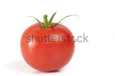 Tomaat vers geïsoleerd witte voedsel vruchten Stockfoto © Gordo25