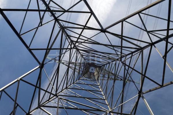 Abstract macht toren afbeelding shot Stockfoto © Gordo25