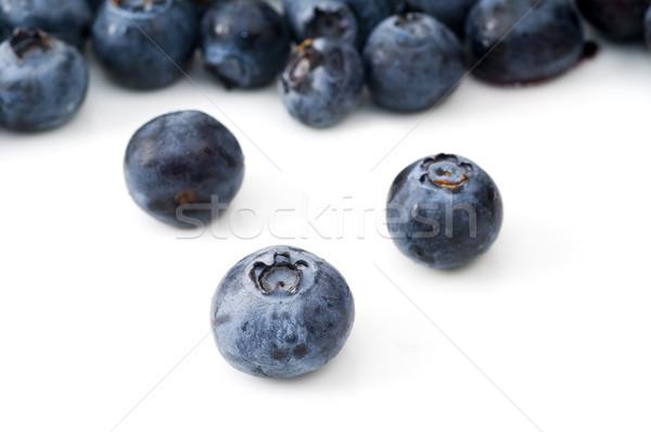 Selective Focus on Blueberry Stock photo © Gordo25