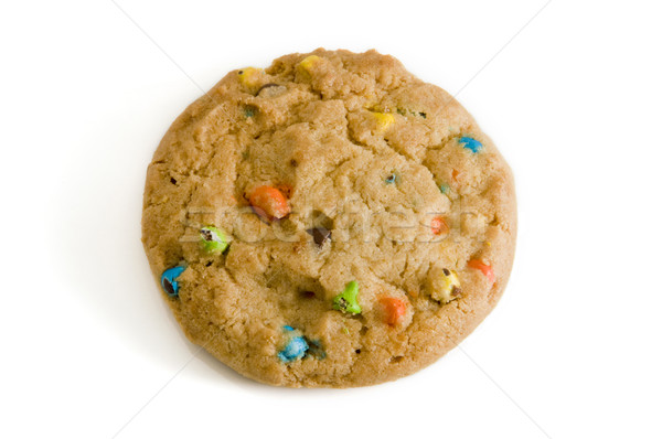 Cookie snoep chip witte eten dessert Stockfoto © Gordo25
