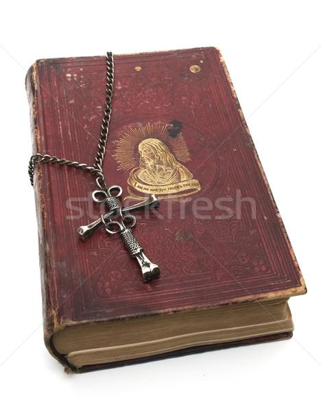 Christ on Religious Book Stock photo © Gordo25