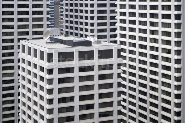 Stock photo: Eye Level Skyscrapers