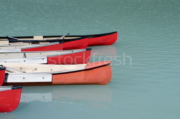 Smeraldo lago ghiacciaio parco acqua natura Foto d'archivio © Gordo25