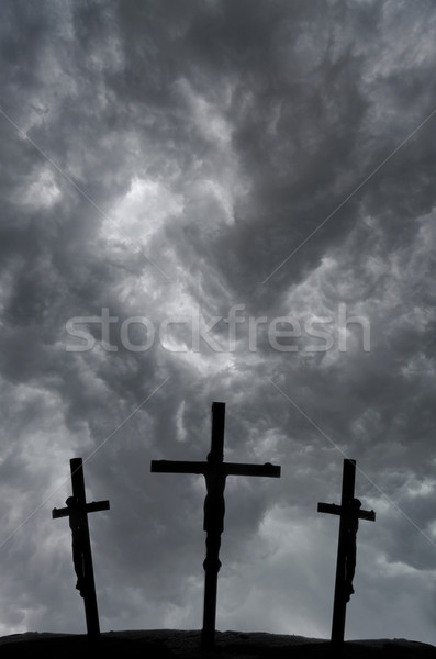 Crucifixion Stock photo © Gordo25
