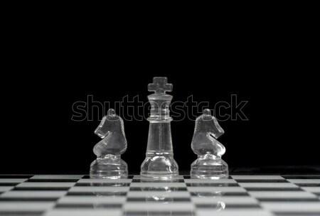 King & Knights Stock photo © Gordo25