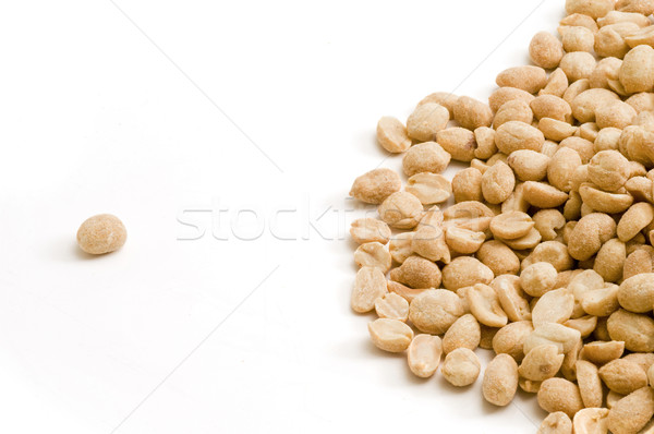 Stock photo: Individual Peanut Stands Out