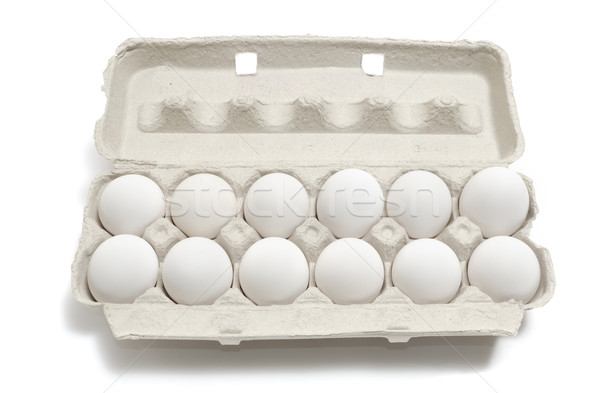A Dozen Eggs Stock photo © Gordo25