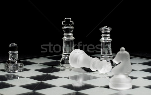 Checkmate Stock photo © Gordo25