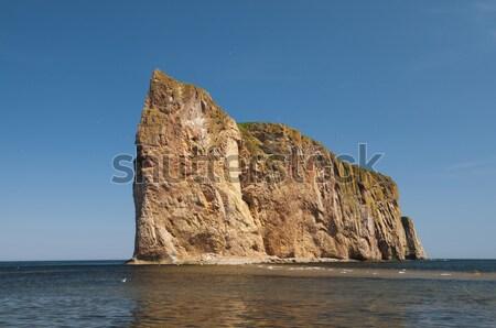 Perce Rock Stock photo © Gordo25