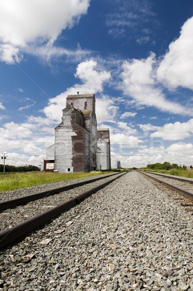 Grain Elevator Stock photo © Gordo25