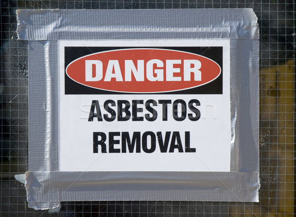 Danger Asbestos Removal Stock photo © Gordo25