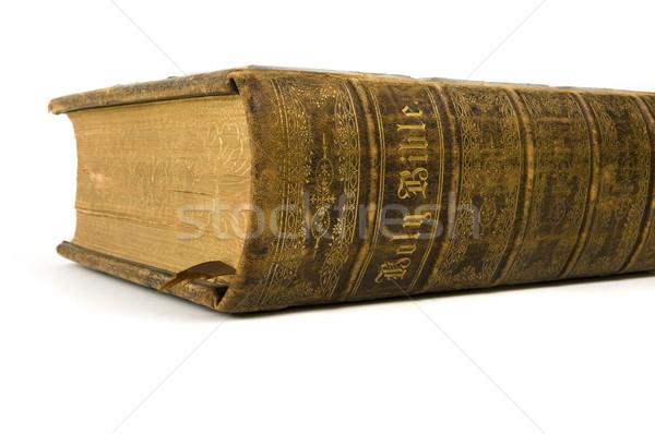 святой Библии избирательный подход слов позвоночник Сток-фото © Gordo25