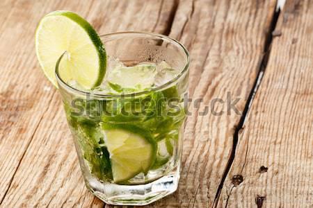 Mojito glass Stock photo © gorgev