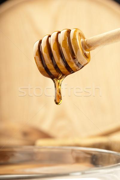 Bright honey dipper Stock photo © gorgev
