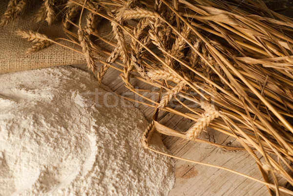 Wheat flour Stock photo © gorgev