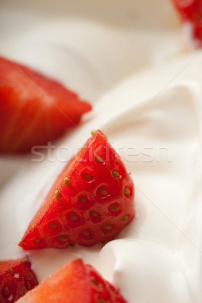 Red on white Stock photo © gorgev