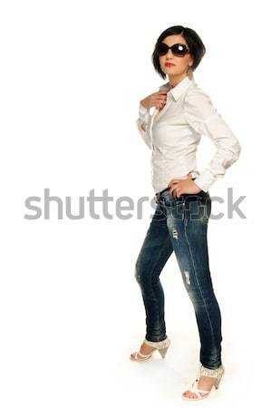 Shirt and jeans Stock photo © gorgev
