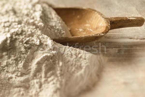Nacimiento pan primer plano polvo Foto stock © gorgev