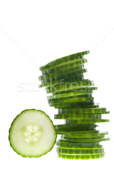 Tower of veggies Stock photo © gorgev
