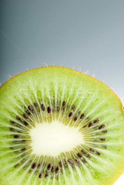 волосатый киви ломтик сторона освещение Сток-фото © gorgev