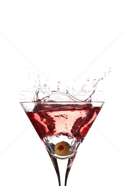High contrast olive splash Stock photo © gorgev