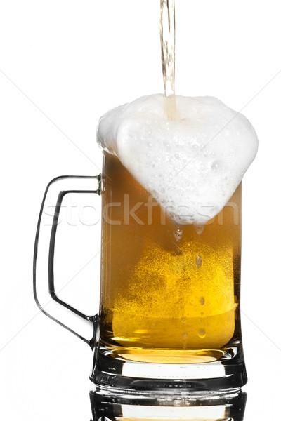 Beer overflow Stock photo © gorgev