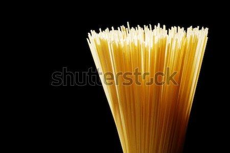 Bright Italian Spaghetti Stock photo © gorgev