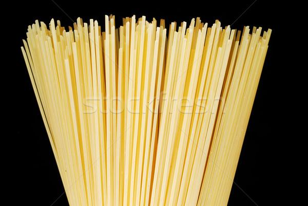 Uncooked spaghetti Stock photo © gorgev