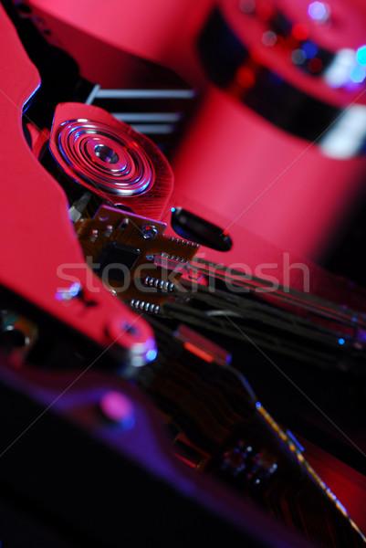 Hard disk detail Stock photo © gorgev