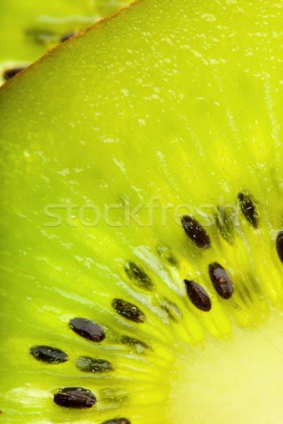 Fresh kiwi closeup Stock photo © gorgev
