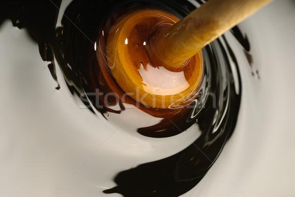 Miel marrón alimentos madera naturaleza Foto stock © gorgev