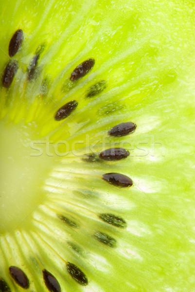 Kiwi seed closeup Stock photo © gorgev