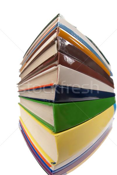 Libro torre primer plano libros uno Foto stock © gorgev