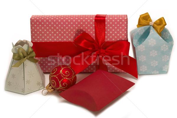Gifts to Christmas.  Stock photo © Goruppa