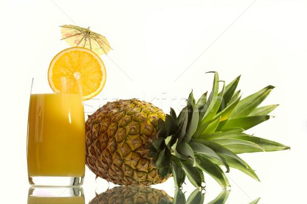 Orange juice Stock photo © Goruppa