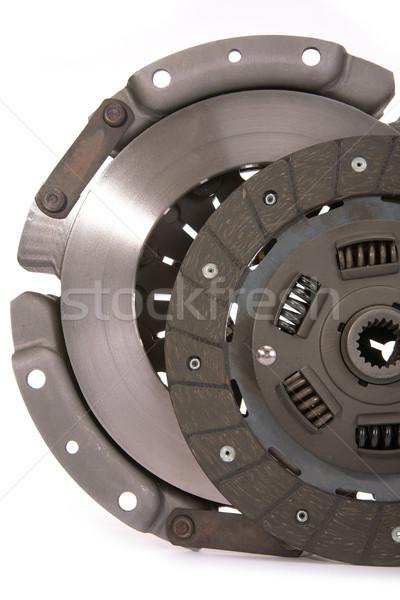 Teile Kraftfahrzeug Kupplung Platte Disc Stock foto © Goruppa