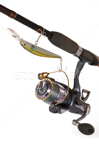Tackles for catching a predatory fish. Stock photo © Goruppa