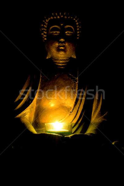 Будду свет Бога тень религии Сток-фото © Grafistart