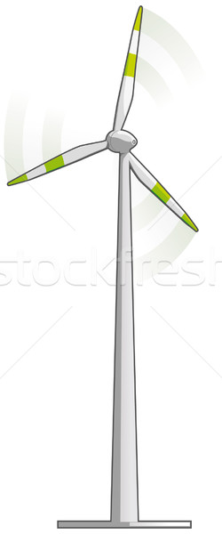 Wind turbine Stock photo © Grafistart