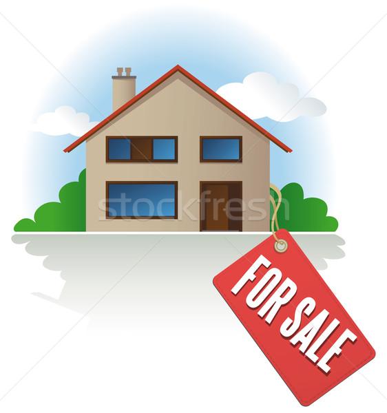 House For Sale label  Stock photo © Grafistart