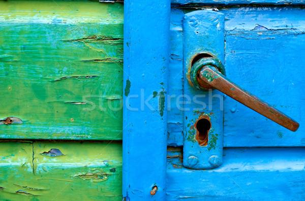 Old door handles  Stock photo © Grafistart