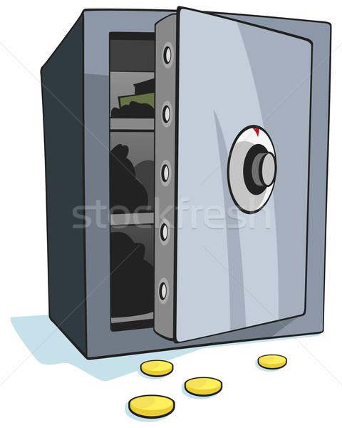öffnen Bank sicher weiß Business Geld Stock foto © Grafistart
