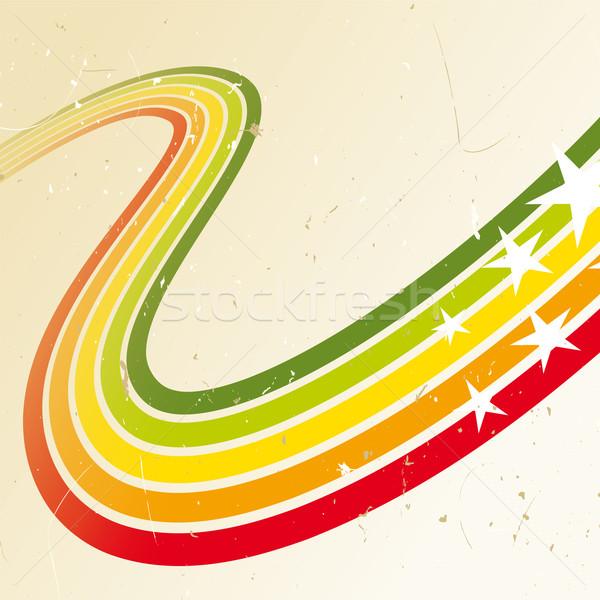 дискотеку красочный аннотация дизайна звезды красный Сток-фото © Grafistart