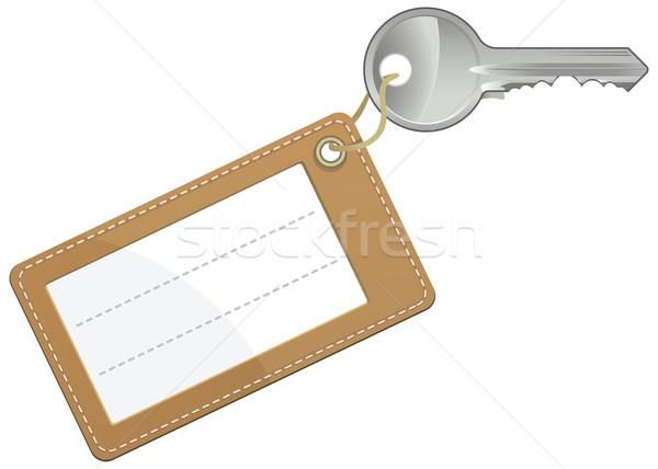 ключевые текста Label изолированный белый бизнеса Сток-фото © Grafistart