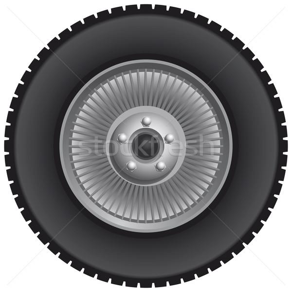 Truck wheel  Stock photo © Grafistart