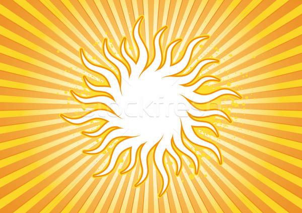 Sun burst Stock photo © Grafistart