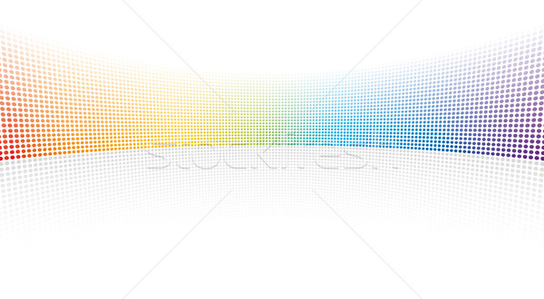 Color spectrum dots  Stock photo © Grafistart